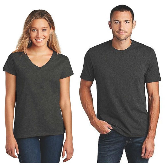 3/$20🌸 Two NWOT Charcoal Gray T-shirts